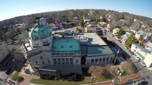 Aerial View Of Handley Library...