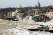 Coastal Erosion - Houses Built...