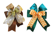 Fancy Bow Ribbons Isolated On ...