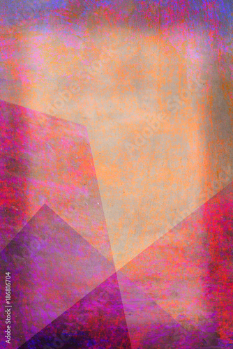 Fotografie, Obraz  Violet Pastel Töne - Abstrakter Hintergrund - Grafik Design