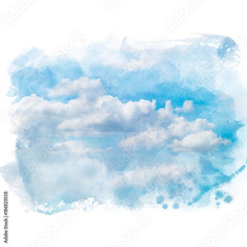 niebieskie-niebo-z-biel-chmura-artystyczny-naturalny-abstrakcjonistyczny-tlo