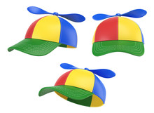 Kids Cap With Propeller, Color...