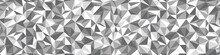 Low Poly Black And White Seaml...