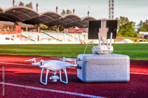 Photo Drone is ready for take off
