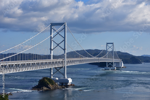 Big bridge in Japan Canvas Print