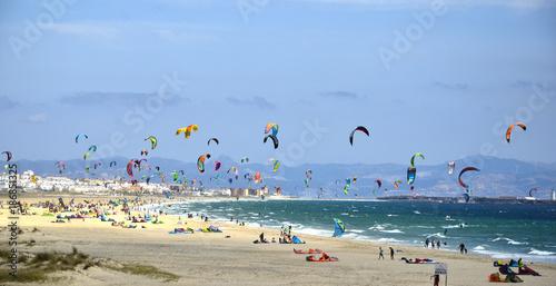 Kitesurf en tárifa. España