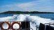 Speedboat departure from Similan Islands