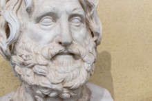 Face Of A Ancient Bearded Man ...