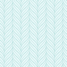Vector Turquoise Wavy Pattern....