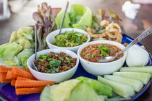Hors D'oeuvres Of Northern Traditional Thai Food - Northern Thai Food Style