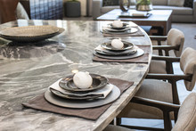Decorative Place Settings On C...