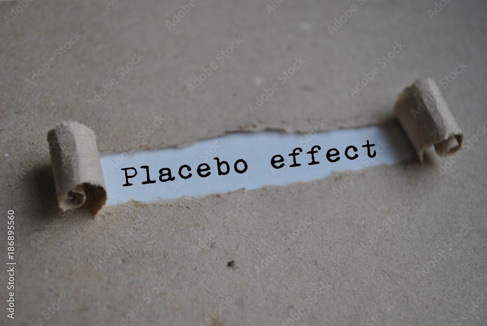 Fototapeta Placebo  effect