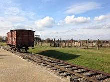 Train Cars Holocaust - Auschwi...