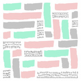 Vector Abstract Scandinavian style background. Modern and stylish abstract design poster, cover, card design.illustration for your design.  - 186907175