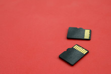 Two Small Micro SD Memory Card...