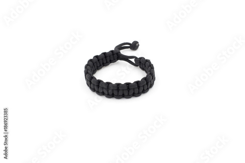 Paracord survival bracelet - Buy this stock photo and