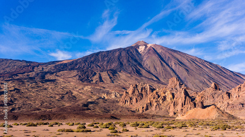 Teide National Park, Tenerife, Canary Islands, Spain Obraz na płótnie