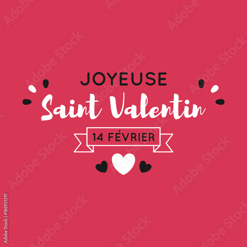 Photo Carte de la Saint Valentin
