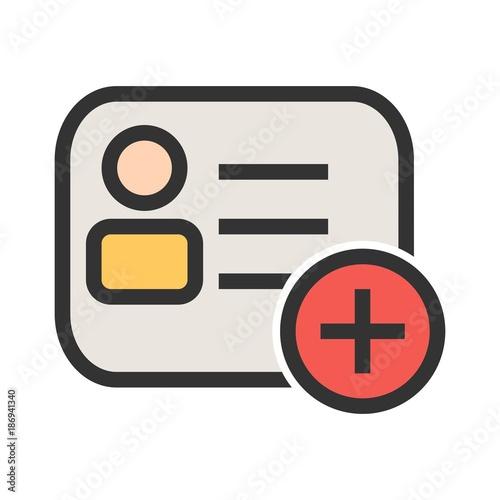 Fotografía  Membership Card Icon