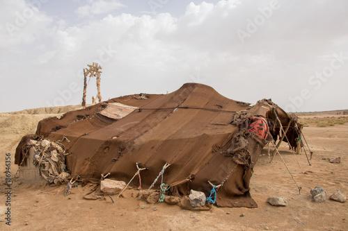 Fotografia nomad tents in the desert