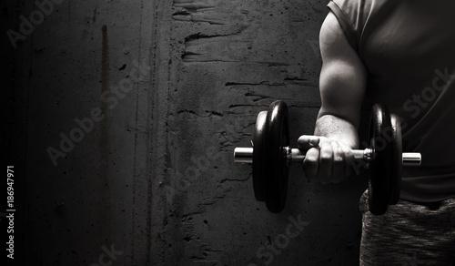 Fotografie, Obraz  Sport / Fitness Hintergrund