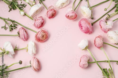 Fotografia Pink ranunculus flowers
