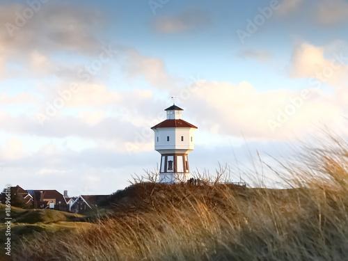 Spoed Foto op Canvas Noordzee Dünenlandschaft auf Insel Langeoog, Nordfriesische Inseln