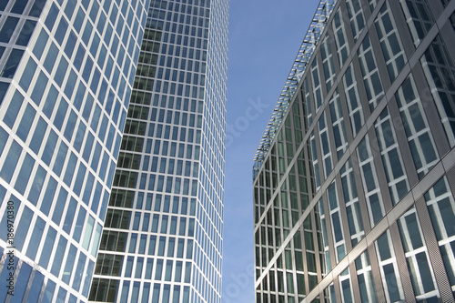 Germany, Munich, facades of Highlight Towers