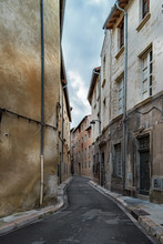 France, Avignon, Old Town, Alley