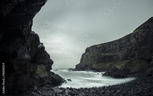 Ireland, near by Giant's Causeway, Atlantic Coast, bay