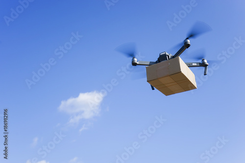 Photo Drone for air delivery