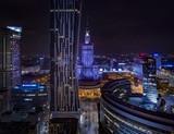Fototapeta Miasto - Warszawa