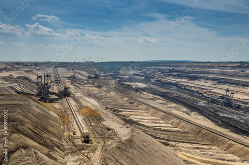 Germany, North Rhine-Westphalia, Borschemich, Garzweiler surface mine