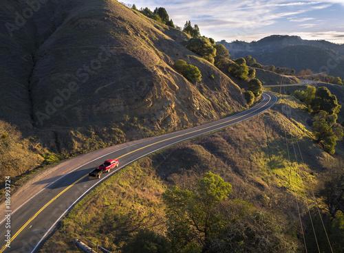 USA, Kalifornia, Orr Springs Road