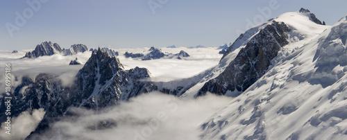France, Chamonix, Mont Blanc Range - 186995186