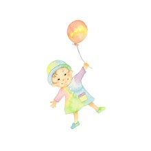 妖精の子ども、風船
