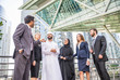 Business people in Dubai