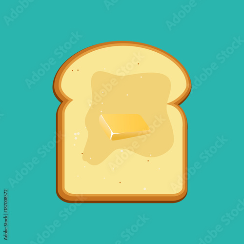 Fotografija Breakfast concept toast
