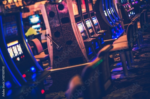 Casino Gambling Machines плакат