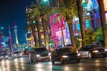 Fototapeta Streets of Las Vegas Nevada