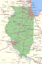 Illinois-US-States-VectorMap-A