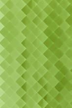 Green Gradient Geometric Background