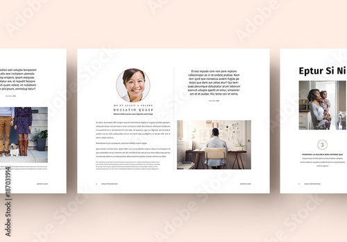 Pastel Presentation Layout  Buy this stock template and