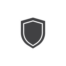 Shield Protection Icon Vector,...
