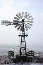 Restored Old American Windmill...