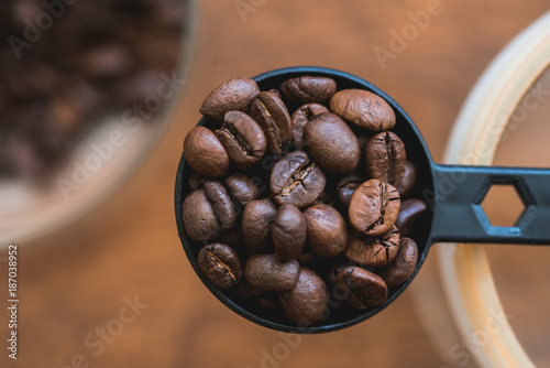Spoed Foto op Canvas Koffiebonen Coffee Time