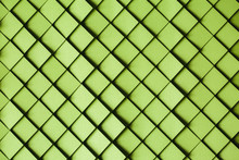 Green Paper Tile Background