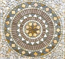 Beautiful Circle Mosaic Tile P...