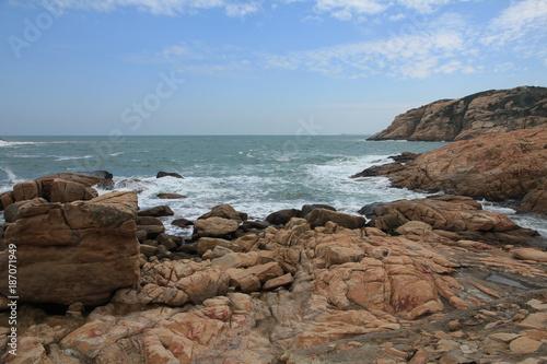 Photo  Cliff at Shek O, Hong Kong