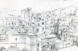etiuda wschodniego miasta - 187078306